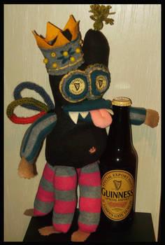 Guinness King Sock Monster