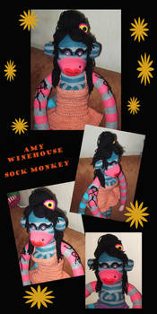 Amy Winehouse Sockie Detailes