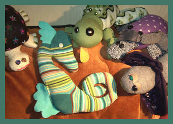 Sea Horse Welcome - art trade