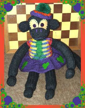 Sock Monkey Girl