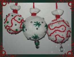 Sock X-Mas Tree Decorations