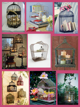 Bird Cages recycled