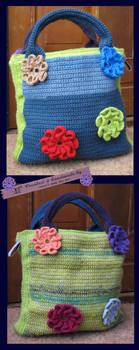 1 handbag 2 sides