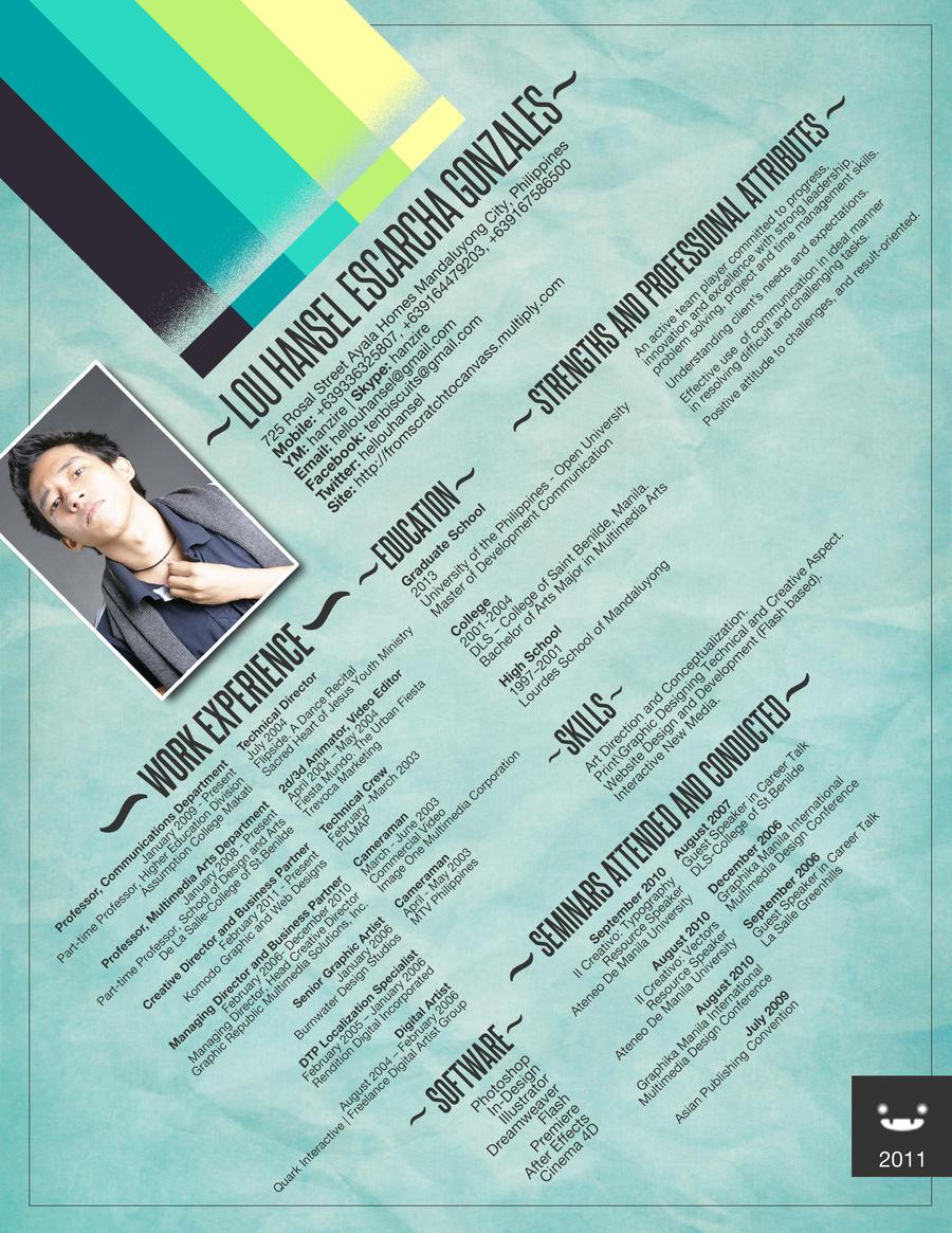 Resume - CV in Blue