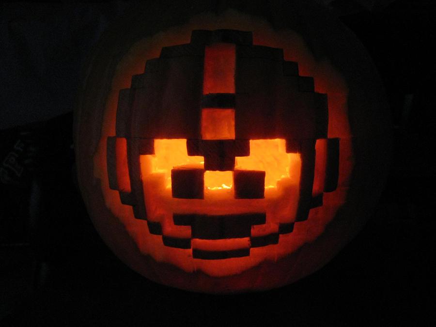 Mega Man Pumpkin by MGPerez