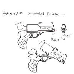 Break-action Revolver
