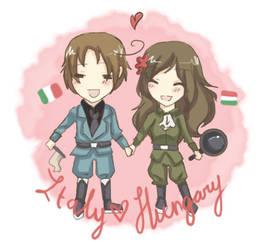 Italy-Hungary by VodkaaKola