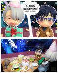 Happy Birthday Yuuri! by VodkaaKola