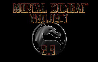 Mortal Kombat Project 2.9 Logo