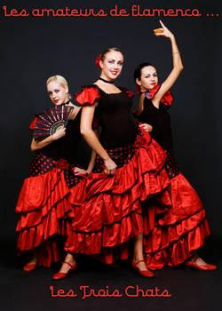 The Three Cats Flamenco Lovers