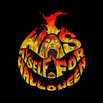 IWMFH Flaming 'A Lesser Hell' logo