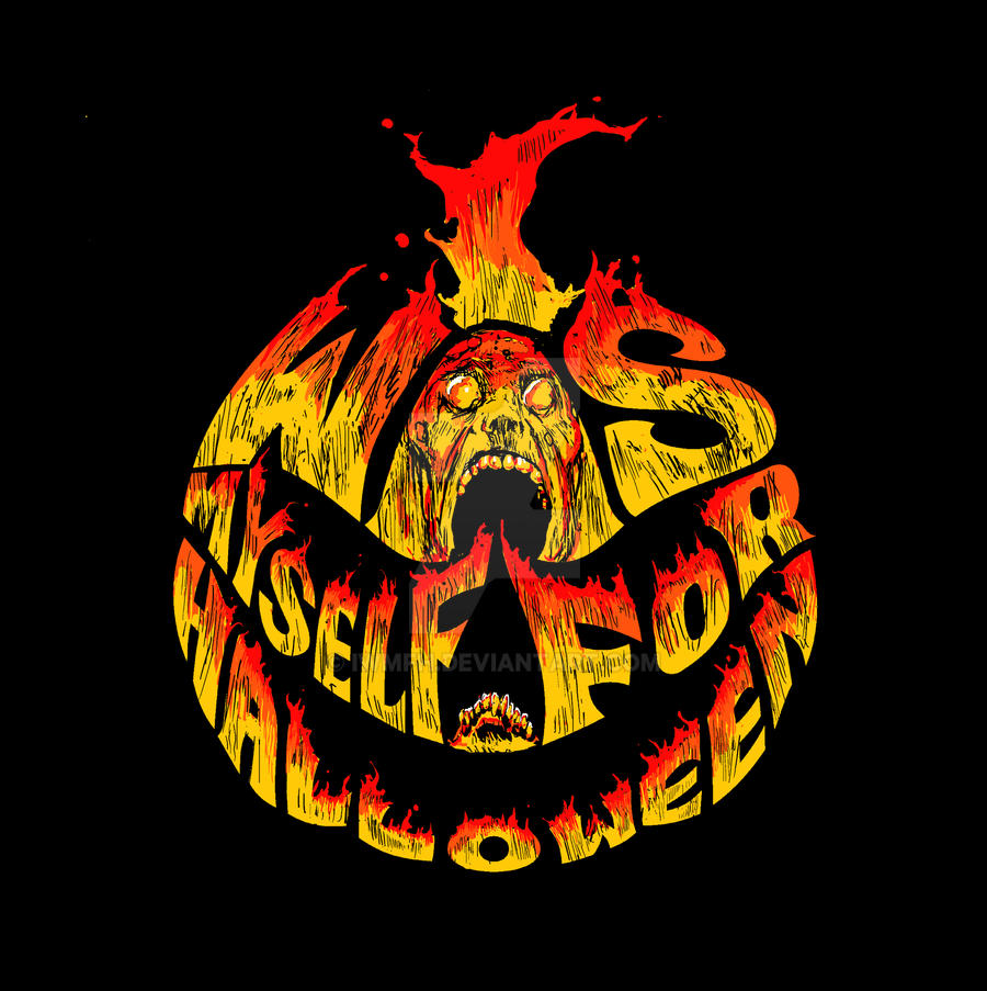 IWMFH Flaming 'A Lesser Hell' logo by IWMFH