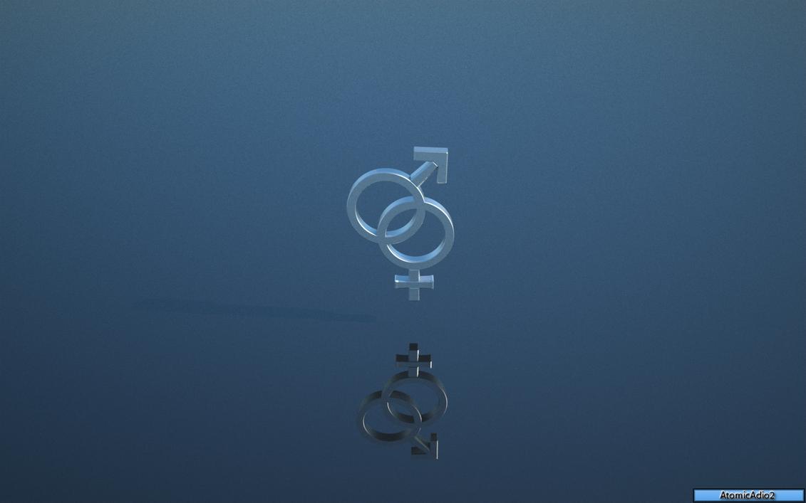 Male Female Symbol 1440x900 By Skatezero On Deviantart