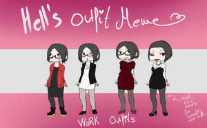 Hell's Outfit Meme: Work Outfits Version