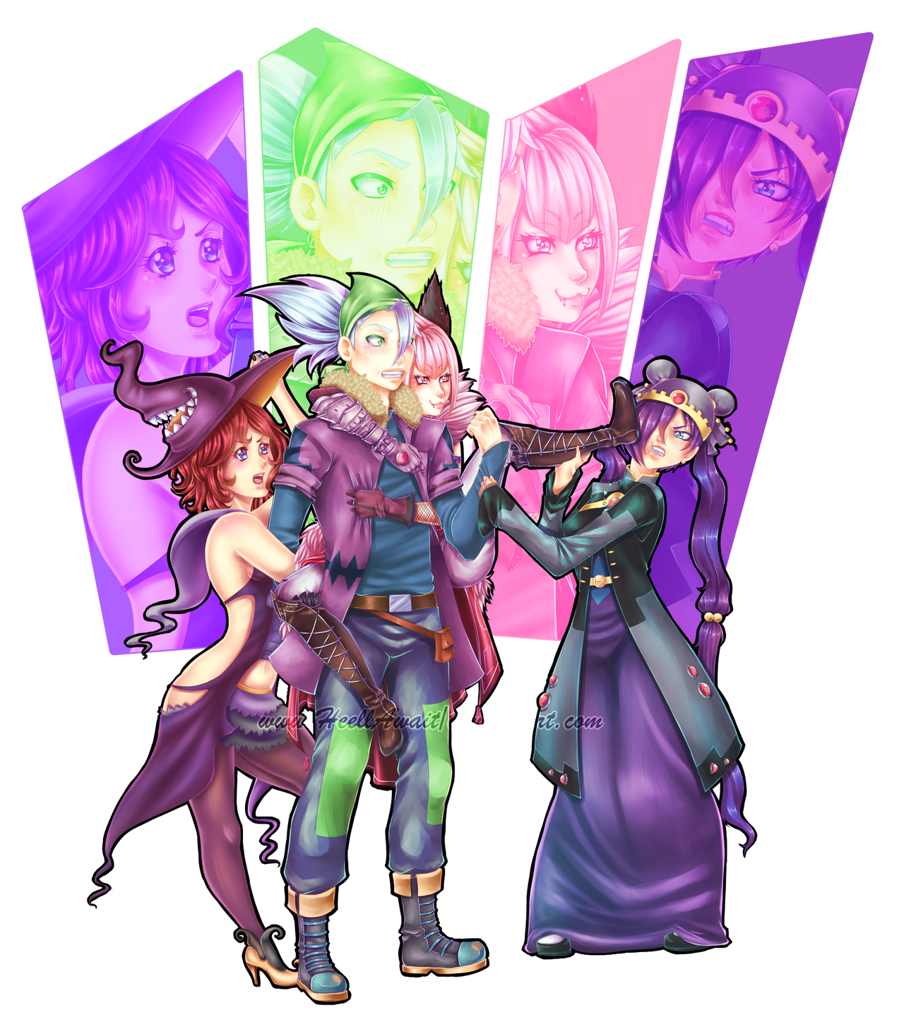 Commission Nitrogoblin by HeellAwait