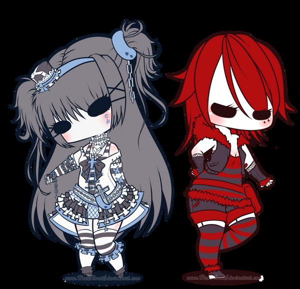 .:PC:.Luna and Lita by HellAwaitsArts