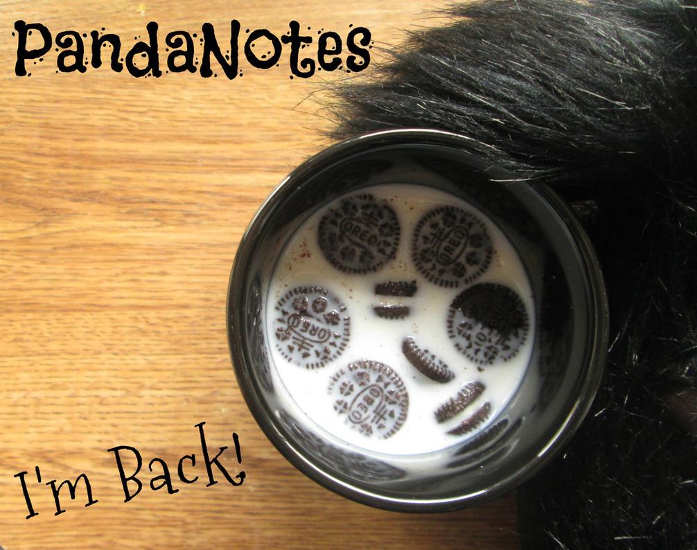 I'm back.... by PandaNotes