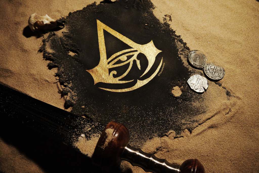 Assassin's Creed Origins Insignia by PandaNotes
