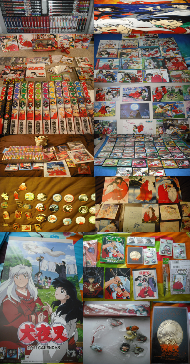 My Inuyasha Collection By Futari No Kizuna On DeviantArt