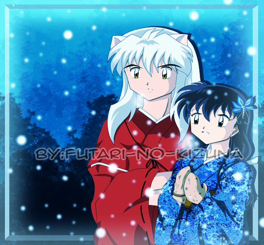 InuKag Week 2012 Day 4 :Winter: by Futari-no-Kizuna