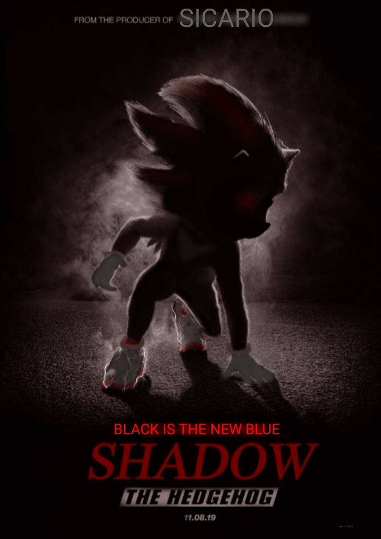 Shadow The Hedgehog Movie Poster Old By Shadow98113 On Deviantart