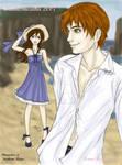 Edward and Bella at the Beach