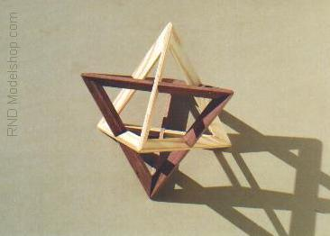 Tetrahedron 'Self Dual' by RNDmodels