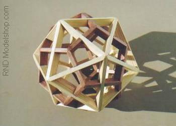 Dodecahedron Icosahedron Dual by RNDmodels