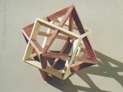 Octahedron and Cube 'Dual' by RNDmodels