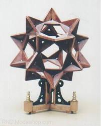 Steampunk Geometric Sculpture by RNDmodels