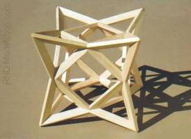 A Cube of 8 Tetrahedron (OS-16)