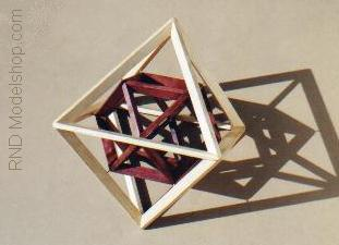 Octahedron with Cuboctahedron by RNDmodels