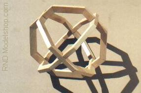 3 Octagons on 3 Axis by RNDmodels