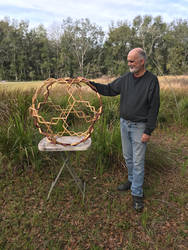 Wood Geometric Sculpture by RNDmodels