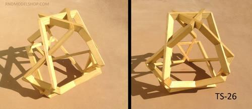 Tetrahedron woven (TS-26) by RNDmodels