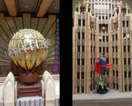 Superman Daily Planet wood Miniature detail by RNDmodels