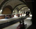 Miniature HO Scale Subway Upper Platform by RNDmodels