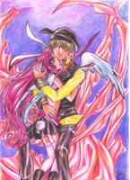Izumi and Meroko from FullMoon by lorenpb