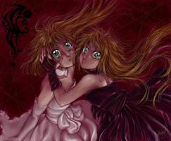 Light and Dark heart by lorenpb