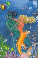 Mermaid's dance by lorenpb