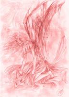 Angel's pain by lorenpb