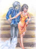Marian and the phanton by lorenpb