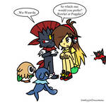 Pokemon Sun/Moon: Choosing Starters