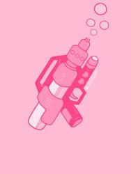Pink Violence by kiwiidzilla