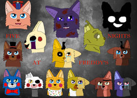 Five Nights At Freddy's by Snowy-Clover
