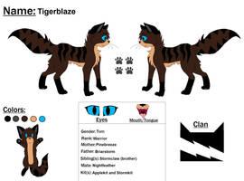 Tigerblaze Ref by Snowy-Clover
