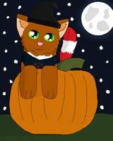 Halloween (YCH) Bren by Snowy-Clover