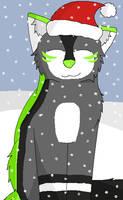 Christmas YCH Cierra  by Snowy-Clover