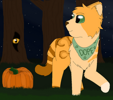 Halloween YCH (Flojo) by Snowy-Clover