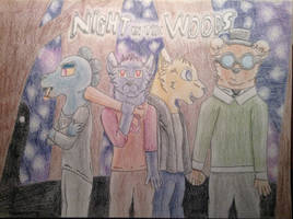 Night In The Woods by Snowy-Clover